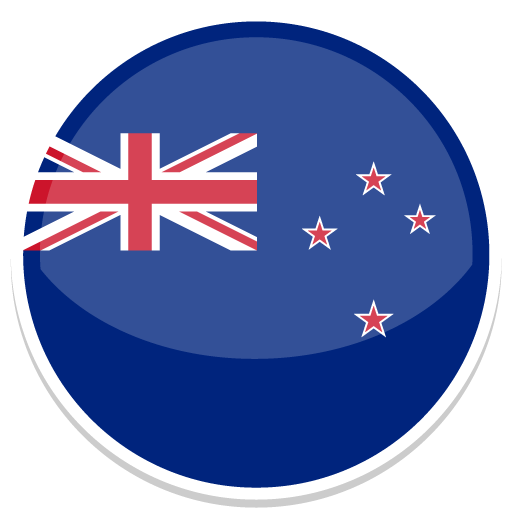 New Zealand Icon Round World Flags Iconset Custom Icon Design