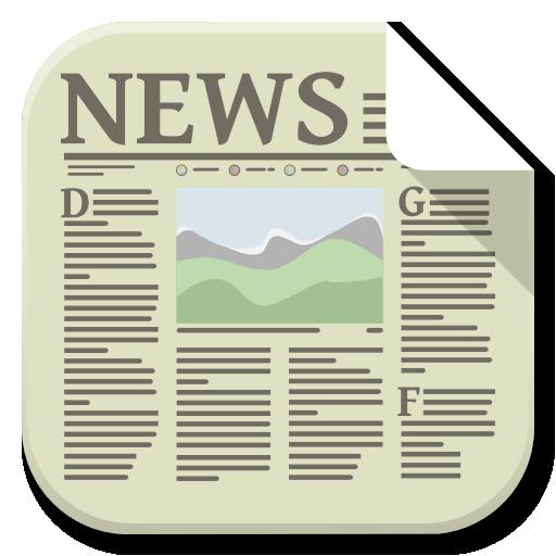 Apps News Icon Flatwoken Iconset Alecive