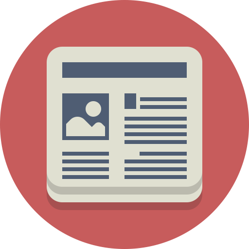 Article, Information, News, Newspaper, Periodical Icon