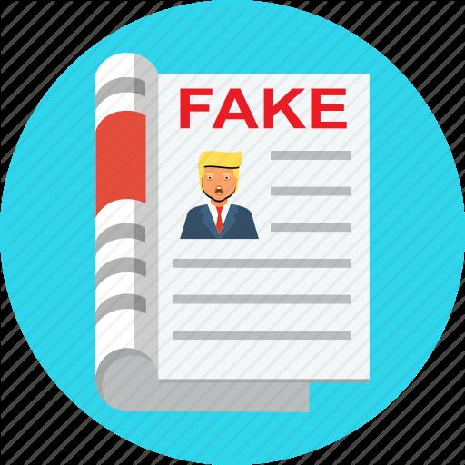Fake, News, Russia, Troll, Trump Icon