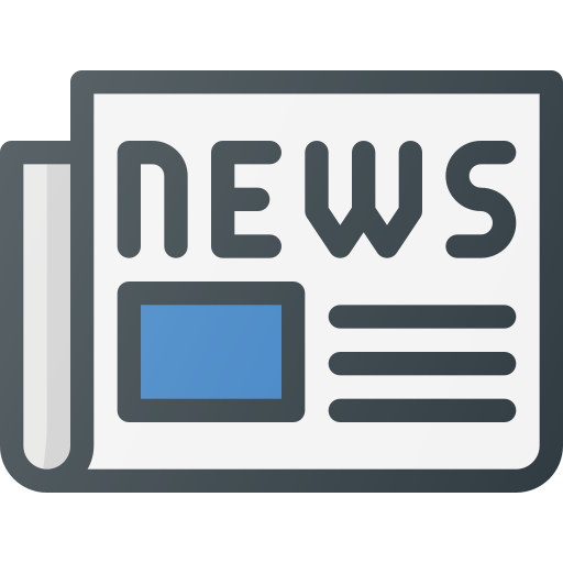 News, Newspaper, Media, Paper, Press, Article Icon Free Of Free