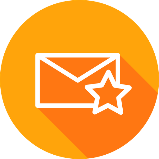 Email, Mail, Star, Favorite, Like, Newsletter