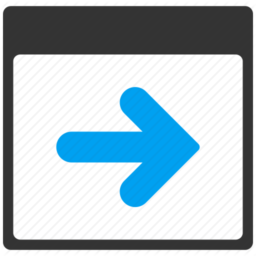 Arrow, Calendar Page, Date, Following, Leaf, Next Day, Schedule Icon