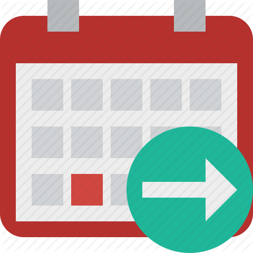 Calendar, Date, Day, Event, Month, Next, Schedule Icon