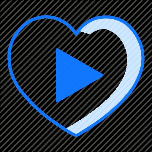 Love, Movie, Music, Next, Play, Valentines Day, Video Icon