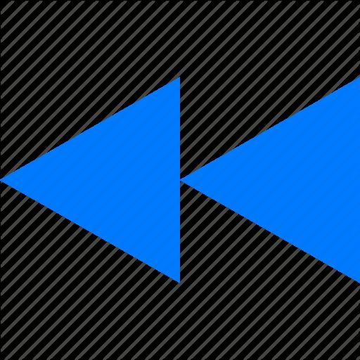 Arrow, Back, Left, Next, Previous, Rewind Icon