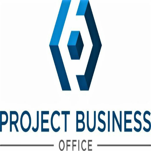 Pbo Logo White Icon Project Business Office