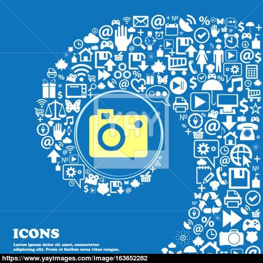 Camera Icon Nice Set Of Beautiful Icons Twisted Spiral Into