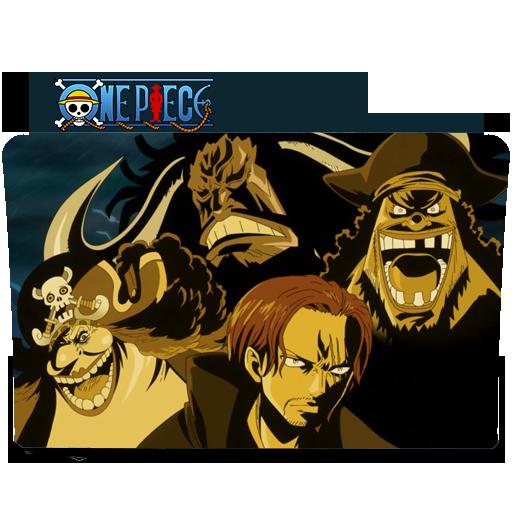 Yonkou Folder Icon One Piece Folder Icon, Website, One Piece