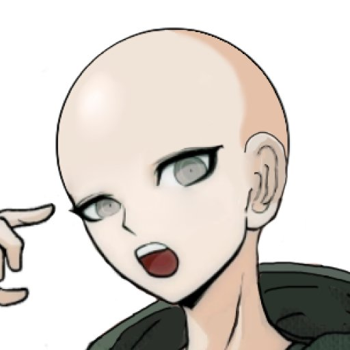 Making Your Favorite Characters Bald! On Twitter
