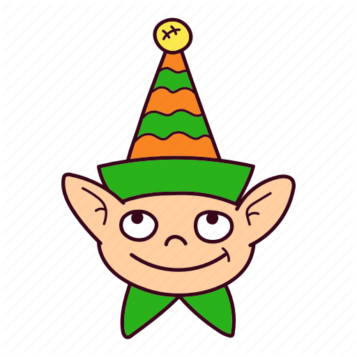 Bell, Christmas, Cone, Elf Icon