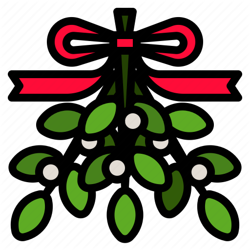 Decoration, Mistletoe, Plant, Winter, Xmas Icon