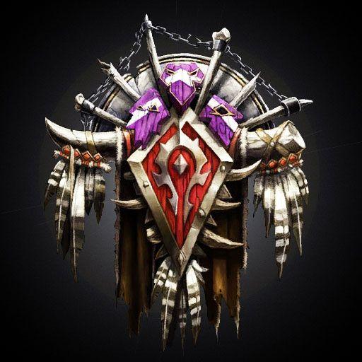 World Of Warcraft Horde Icon