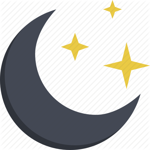 Child Toy, Moon, Night, Night Sky, Sky, Starry Night Icon