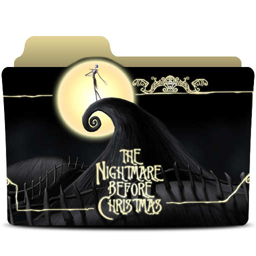 The Nightmare Before Christmas Folder Icon