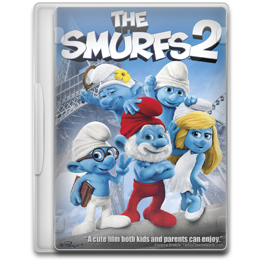 The Smurfs Icon Movie Mega Pack Iconset