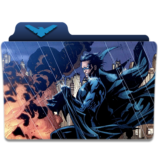 Nightwing Folder Icon