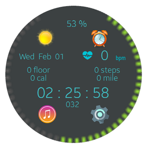 Battery Animation Watchfaces For Smart Watches