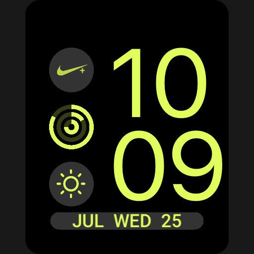 Nike Apple Watch Face Volt Copy For Gear Live