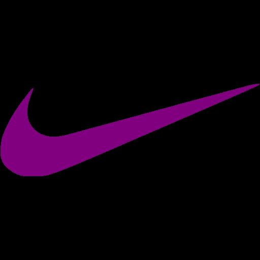 Purple Nike Icon
