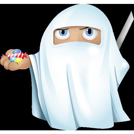 Ghost, Halloween, Ninja Icon