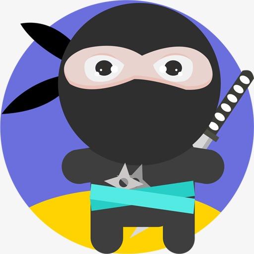 Ninja Icon, Ninja, Cut Fruit, Cartoon Png Image And Clipart