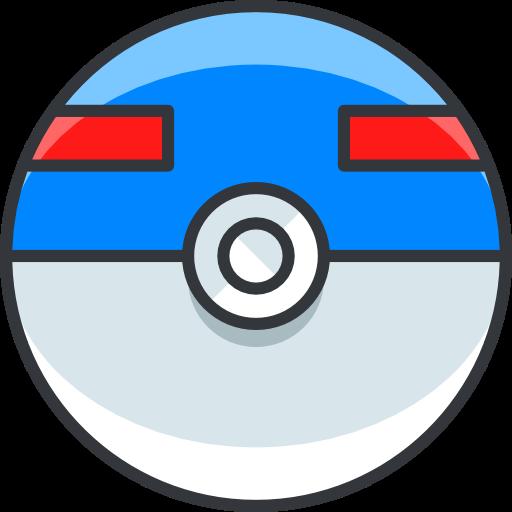 Pokemon, Superball, Gaming, Nintendo, Video Game Icon