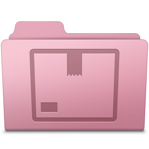 Stock Folder Sakura Icon Smooth Leopard Iconset Mcdo Design