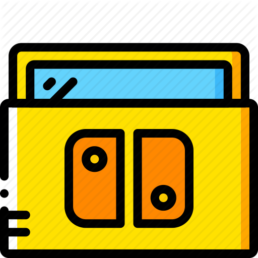 Console, Devices, Game, Nintendo, Switch, Yellow Icon