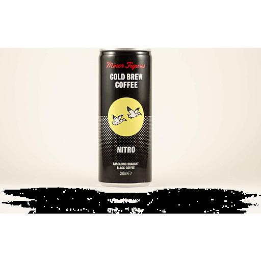Minor Figures Nitro Cold Brew Coffee Black