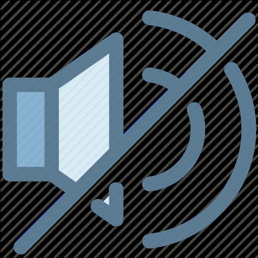 Audio, Multimedia, Mute, No Sound, No Volume, Speaker Icon