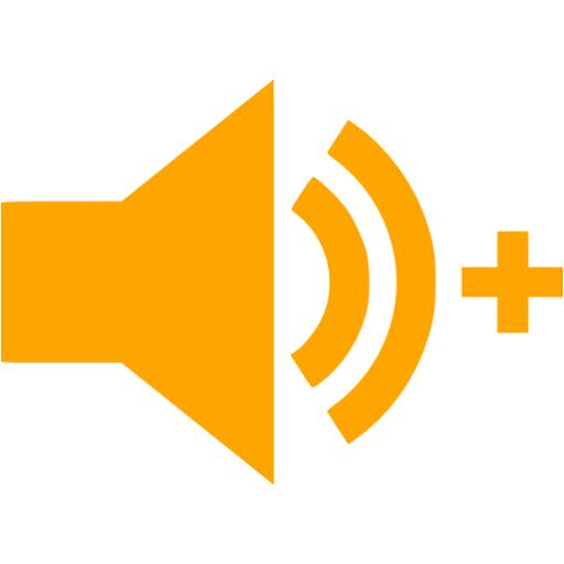 Orange Audio Add Icon