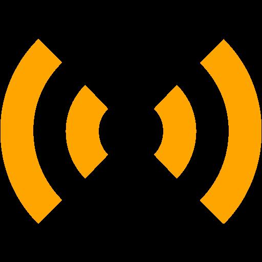 Orange Audio Icon
