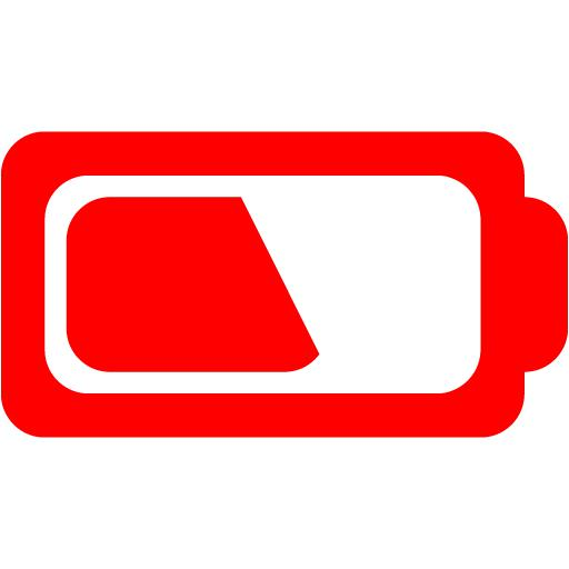 Red Battery Icon