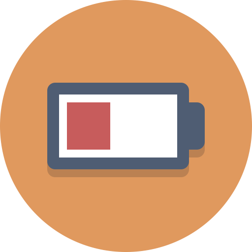 Low Battery, Battery Icon