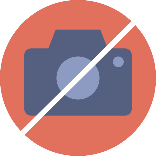 No Pictures No Camera Png Icon