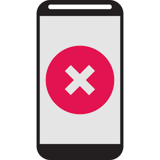 Bad, Bad Quality, Cell Phone, Mobile Phone, No, Phone Icon