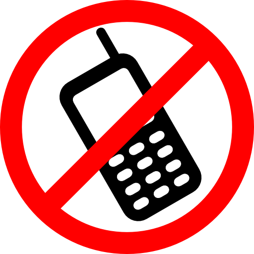 No Cell Phones Allowed Clipart
