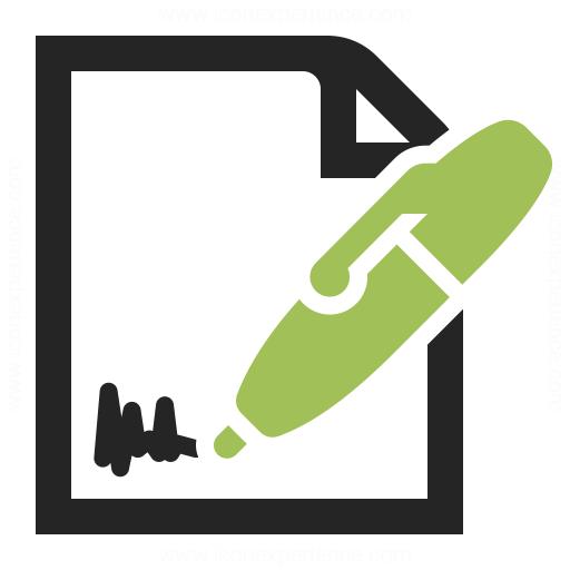 Contract Icon Iconexperience