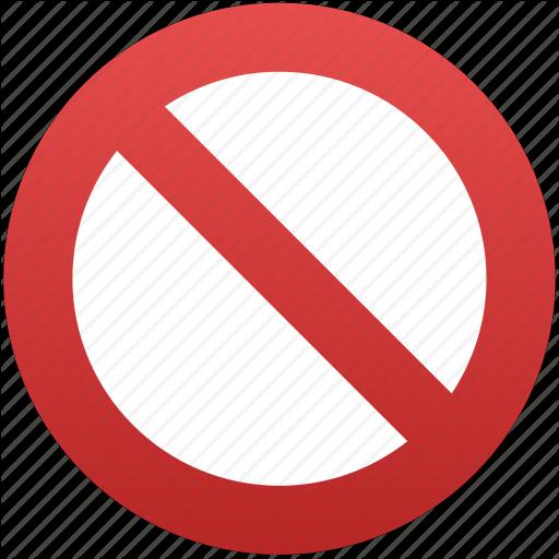 Close, Closed, Entry, Forbidden, No, No Entry, Restriction Icon