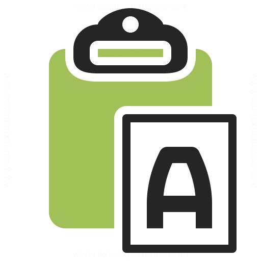 Clipboard Paste No Format Icon Iconexperience