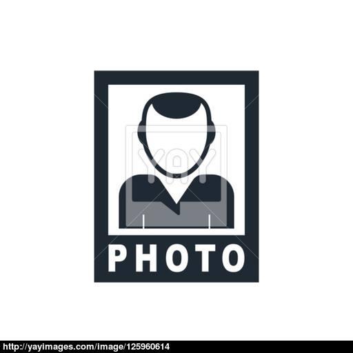 No Foto Icon Vector
