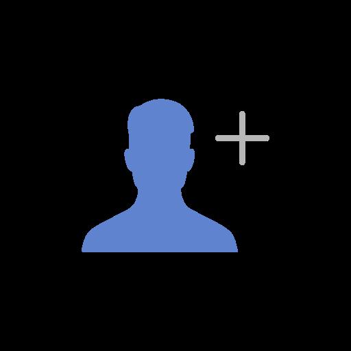 Add, Add Contact, Add Friend, Friend Request Icon
