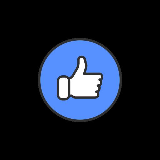 Like, Facebook, Emoji, Like Button Icon