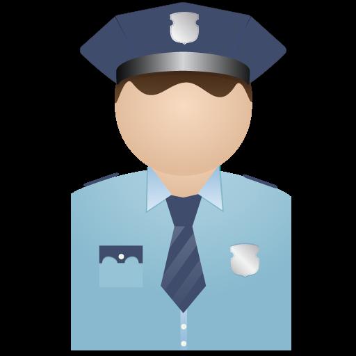 No, Policeman, Uniform Icon