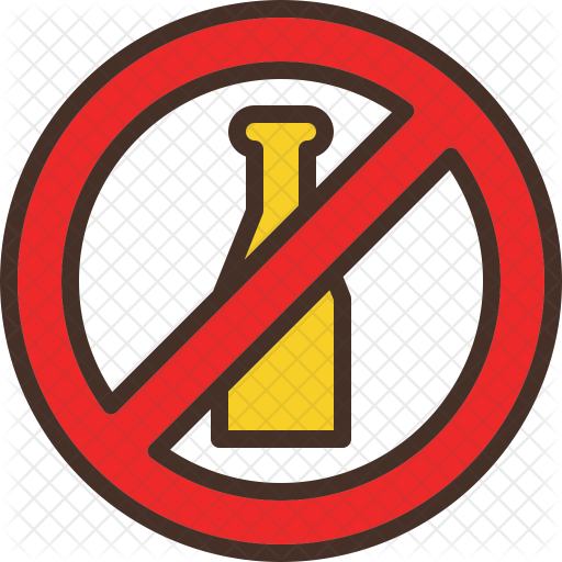 No Alcohol Icon Png Png Image