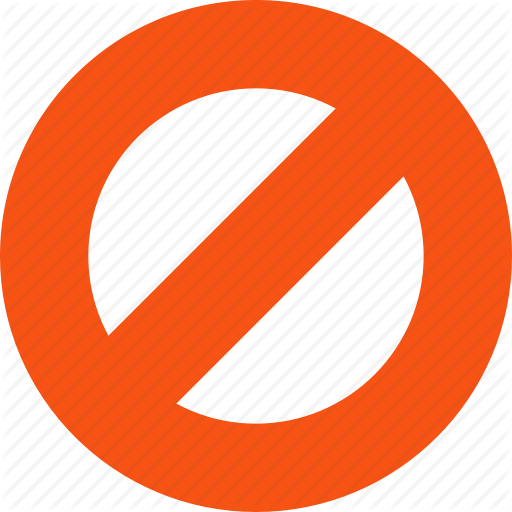 No Entry Icon Png Png Image