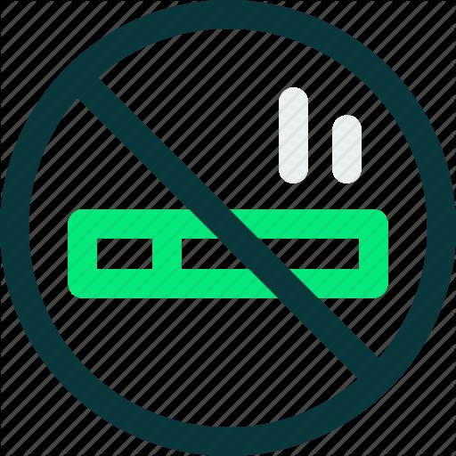 Cigarette, No, No Smoking, Smoking Icon Icon