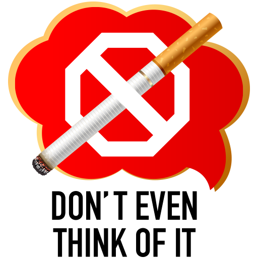 Don't Even Think Of It Smoking Icon