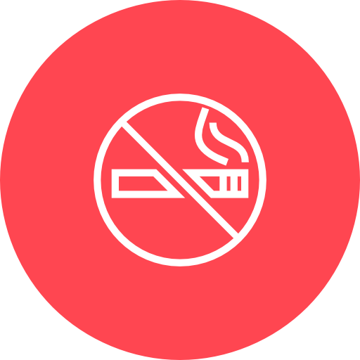 Red, No, Smoking Icon Free Of Hotel And Spa Icons